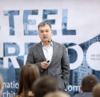 Александр Чуб, член жюри. Полуфинал STEEL FREEDOM 2014