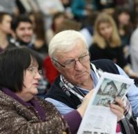 Ольга Сокол, Юрий Серегин, члены жюри. Полуфинал STEEL FREEDOM 2014