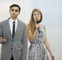 Кирилл Сухаревский, Евгения Ельчанинова, конкурсанты. Полуфинал STEEL FREEDOM 2014