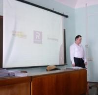 Дмитий Каладжиев,  архитектурный консультант Reynaers Aluminium. Приднепровская академия строительства и архитектуры