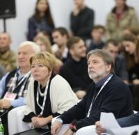 Елена Сокол, Сергей Юнаков, члены жюри. Полуфинал STEEL FREEDOM 2014