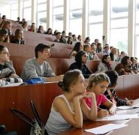 Студенты КНУСА - слушатели презентации конкурса