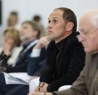 Александр Струлев, Николай Демин, члены жюри. Полуфинал STEEL FREEDOM 2014