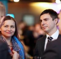 STEEL DINNER 2014.  Алина Севастюк, Деян Бойковски, KPMG